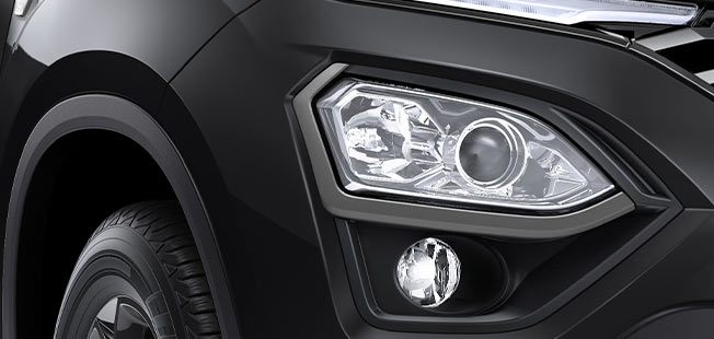 Premium Grey Headlamp Bezel